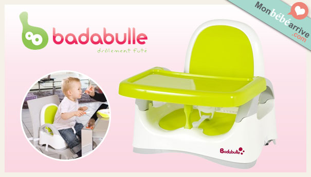 Le rehausseur de table badabulle - Chaise bebe qui s accroche a la table ...