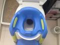 Le Réducteur de WC Kiddyloow est confortable pour les enfants.