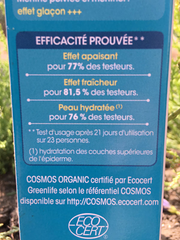gel apaisant les piqûres de moustiques SO'BIO