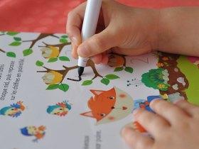 L'enfant peut apprendre des notions de mathématiques.