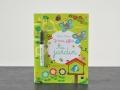 Cahier d'activités : « Je trace, j'efface : Au jardin » (Editions Usborne)