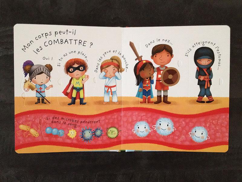 Les illustrations du livre sont belles et parlent aux enfants.