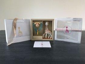 Coffret cadeau de naissance Sophie la girafe