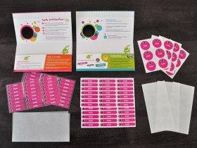 Les étiquettes et stickers qui vont vous permettre de marquer tout ce que vous souhaitez.