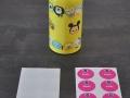 Vous pouvez personnaliser vos stickers et étiquettes.