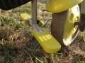 Le tricycle Smart Trike est équipé d'un repose pieds.