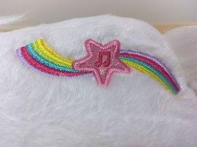 Les yeux de la licorne s\'illuminent lorsque l\'on appuie sur cette étoile.