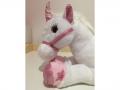 une belle licorne rose