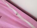 zipper le drap housse à la couette