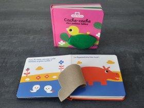 Des livres adaptés aux plus petits dès 6 mois.
