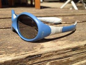 lunettes soleil Looping Julbo en version bleue et grise.