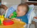 Les Mega Bloks sont des briques adaptées à bébé.