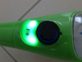 Dès que le voyant du balai vapeur est vert on peut l'utiliser.