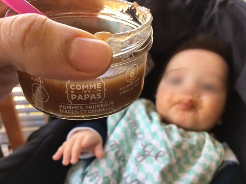 petit pot bio pour bébé