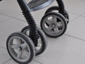 roues avant pivotantes de la poussette Cocoon Citysport Graco