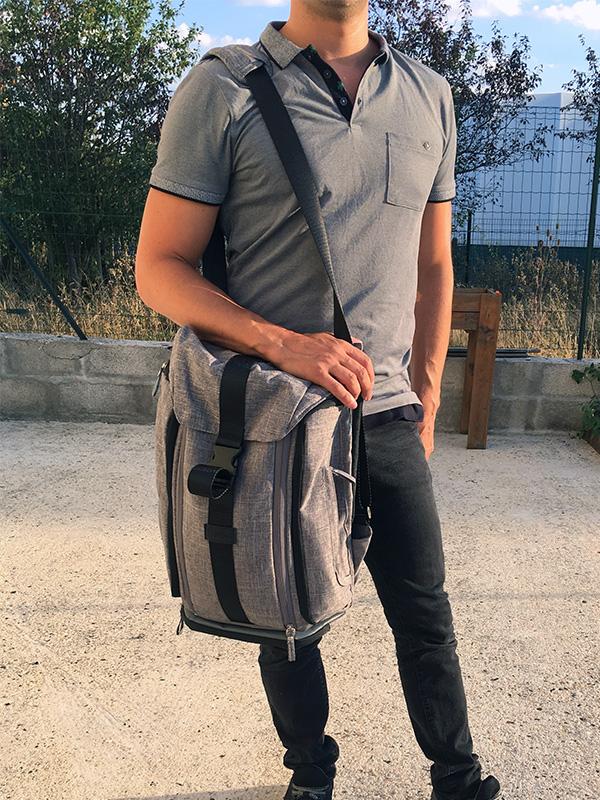 sac à langer besace Jule's Bag