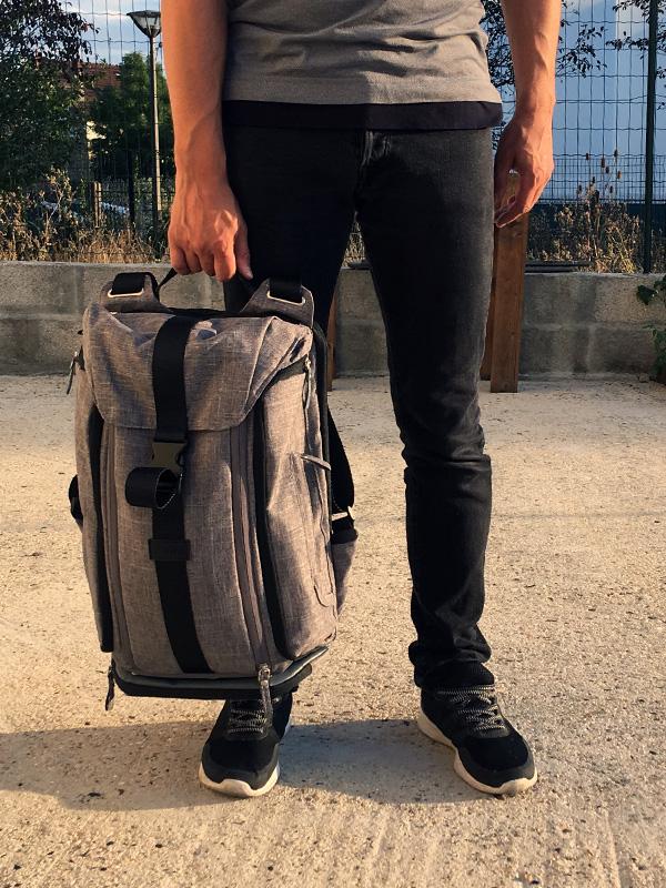 sac à langer homme