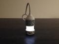 La lumière de cette veilleuse n'est pas trop forte pour bébé.