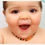 collier d'ambre pour bébé