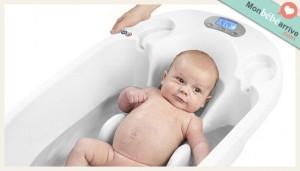 Couches de bain little swimmers - Baignoire digibath babymoov ...
