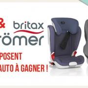 Jeu concours : 6 sièges auto Britax et Römer à remporter