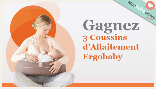 Jeu concours coussin allaitement ergobaby