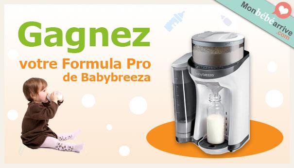 Gagner préparateurs biberons Babybreeza
