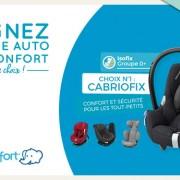 Jeu concours : un siège auto de la marque Bébé Confort à gagner