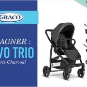 Jeu concours : une poussette Evo Trio de Graco