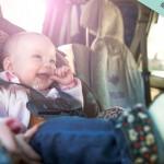 long trajet en voiture avec bébé