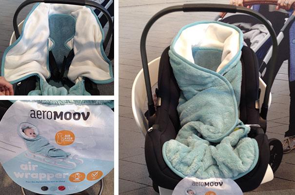 Couverture enveloppante Air Wrapper (AeroMoov)