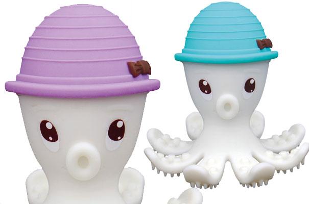 Jouet de dentition pieuvre 3D (Babytolove)