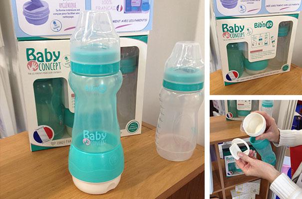 Le biberon Bib'n Go (Baby Concept)