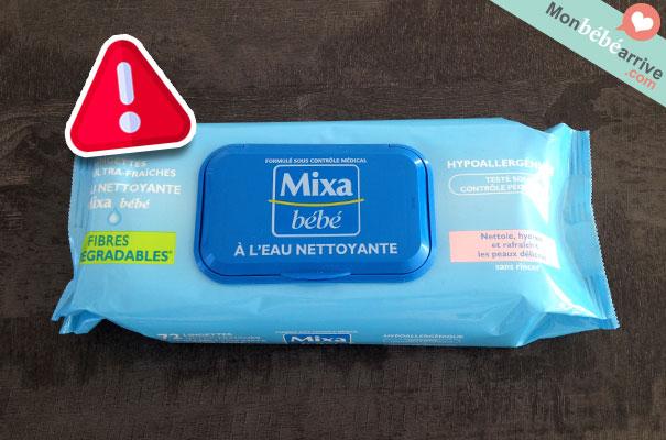 Lingette Mixa bébé