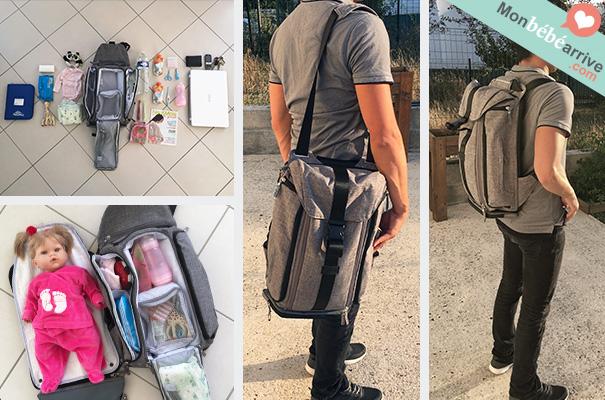 sac à dos à langer Jule's bag