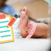 Les premiers examens de bébé à la maternité