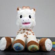 Peluche Touch & Music Sophie la girafe (Vulli)