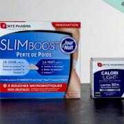 Complément alimentaire minceur : SlimBoost Jour&Nuit et Calorilight (Forté Pharma)